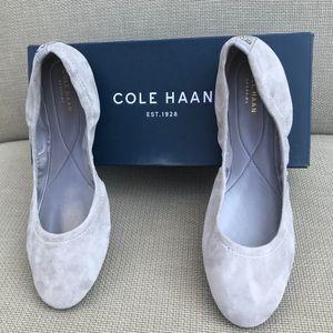 Cole Haan Grey Ballet Flats